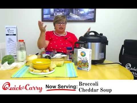 Panera Copycat Broccoli And Cheddar Soup - Instant Pot