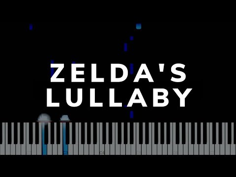 ZELDA'S LULLABY [Synthesia Tutorial] - A Timeless Lullaby - MajorLink