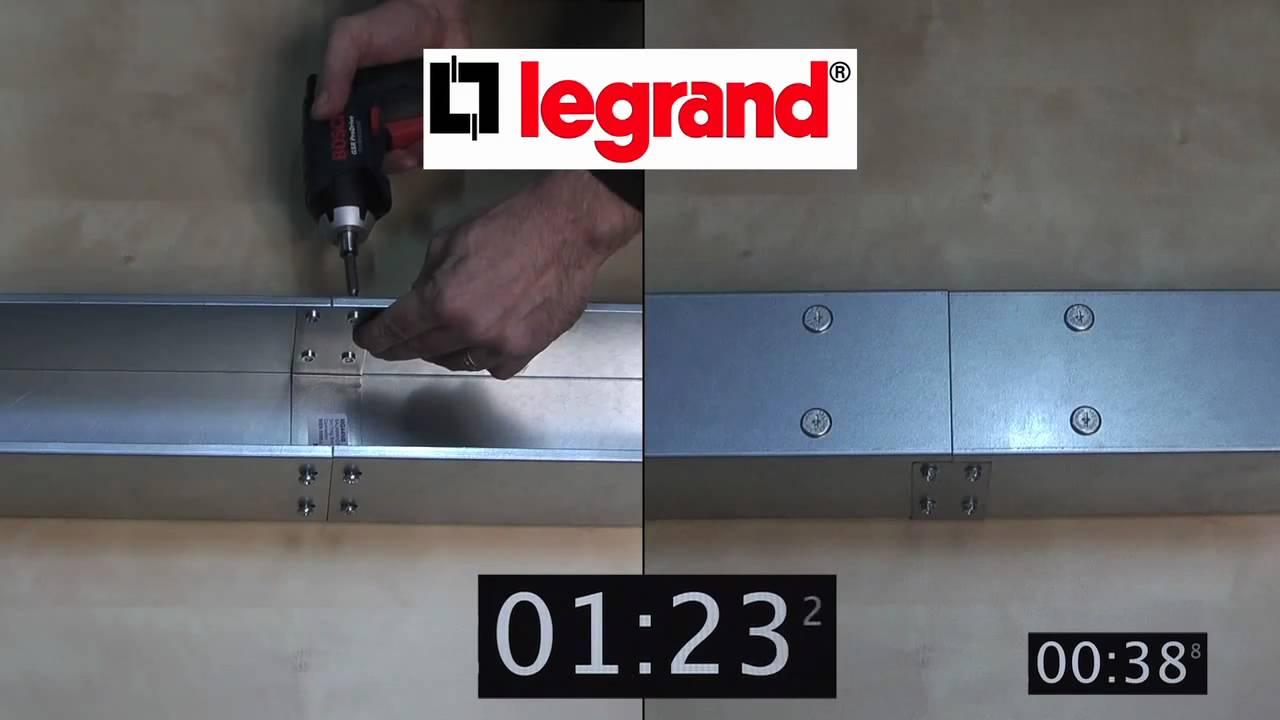 Legrand Salamandre Steel Trunking Range - Old v New - YouTube