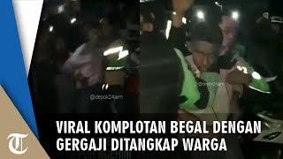 Viral Video Begal dengan Gergaji di Depok Ditangkap Warga, Nyaris Diamuk Massa  from Tribun Solo Official