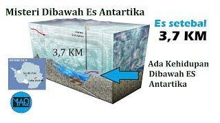 Hidup 3,7 KM dibawah Es Antartika ! 5 Penemuan Objek Mlsterius di Antartika