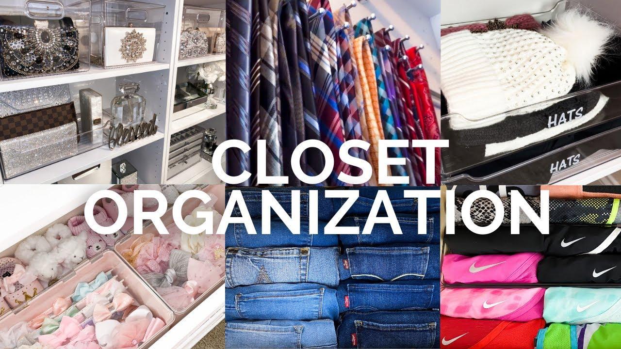 EXTREME Closet Organization + Nursery Organization Ideas | CLEAN DECLUTTER ORGANIZE With Me!