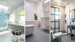 10 Bathroom Tile Ideas that Won't Turn Your Floor Dull