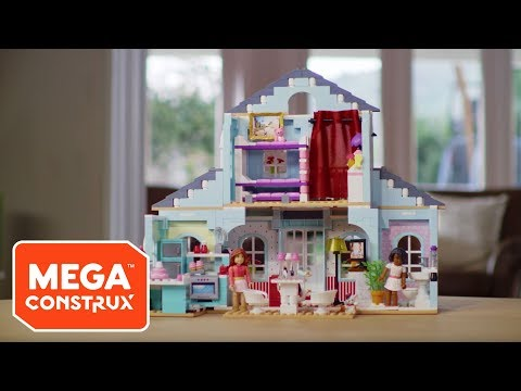 Unboxing Grace's 2-in-1 Buildable Home | American Girl | Mega Construx
