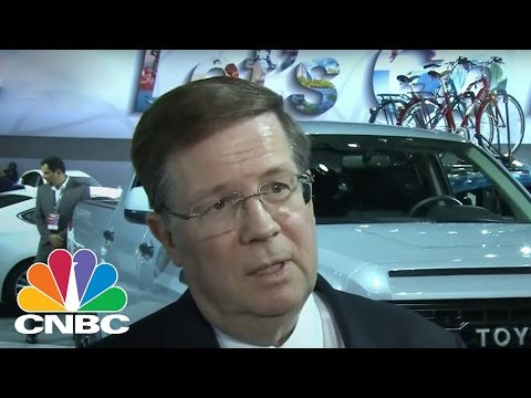 Toyota's Jim Lebtz: We Won't Scrap Plans For Mexico | CNBC