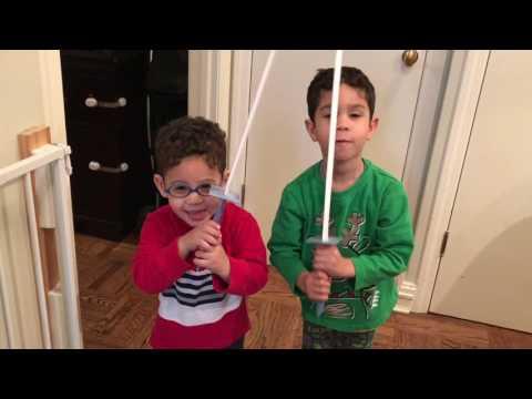 I made my sons paper Samurai swords