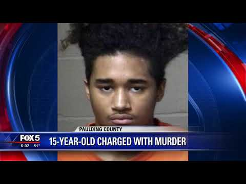 Paulding County teen charged with murder
