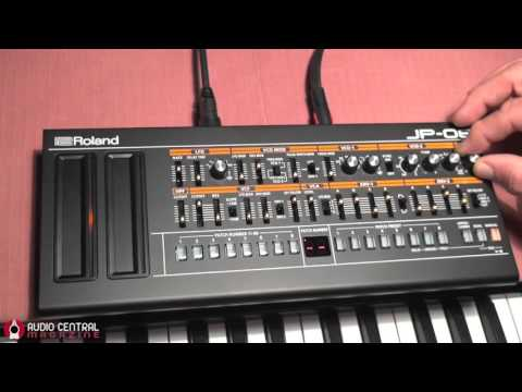 Fiddling with Roland JP 08