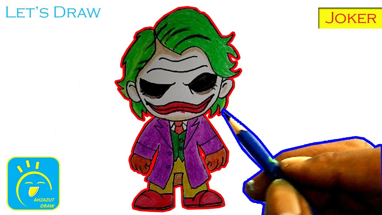 How To Draw A Funny Joker