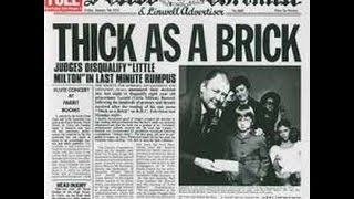 Jethro Tull - Thick As A Brick (no ads)