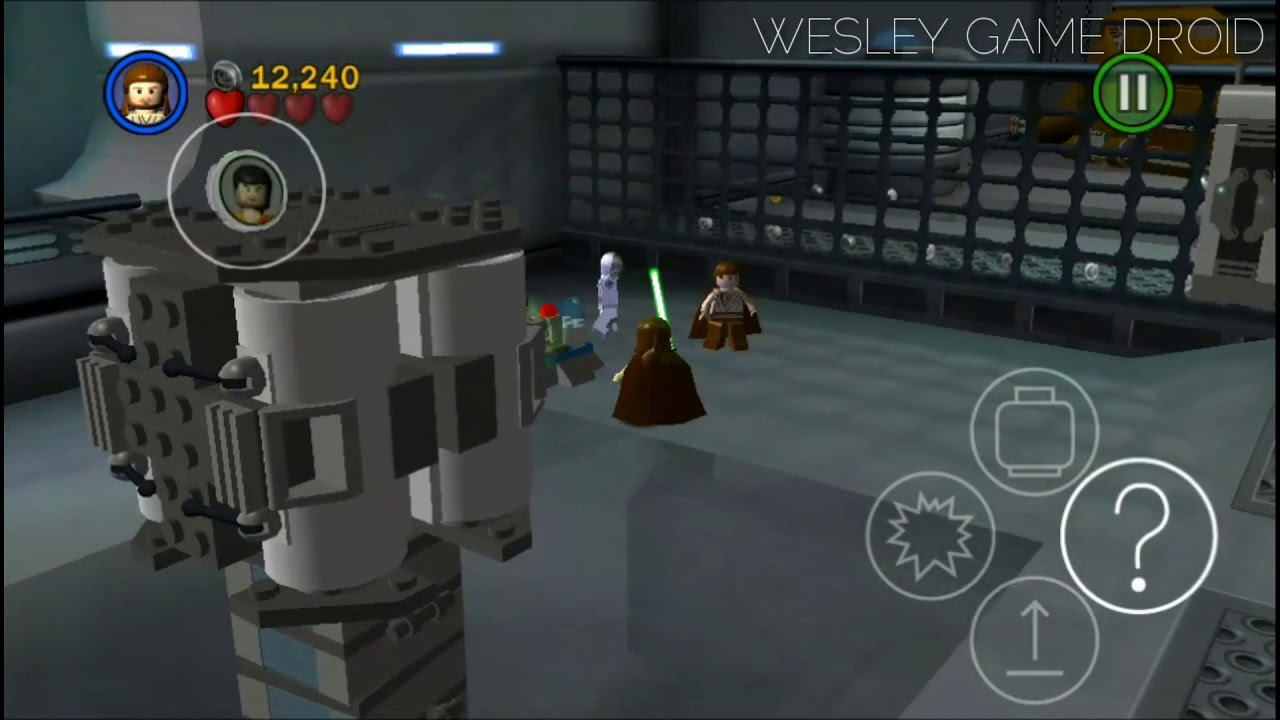lego star wars the complete saga para android apk  obb