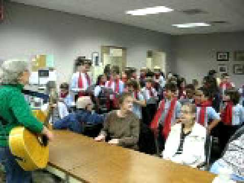 Kingston Catholic School visits the Always There Adult Day Program