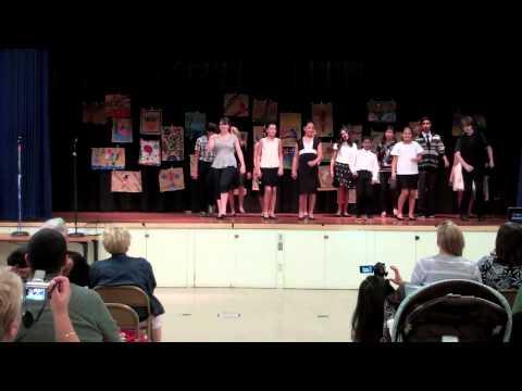 John Muir Middle School Ballroom Dance 2013