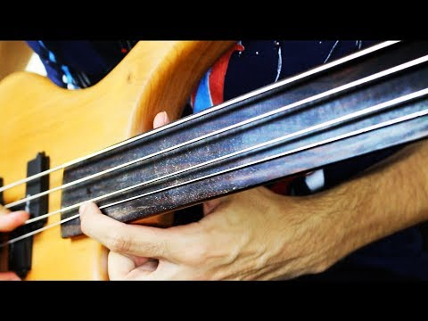 NEW FRETLESS BASS SOLO