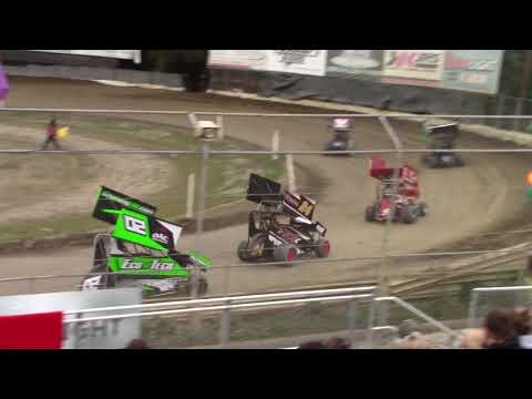 Deming Speedway WA - Micro 600R Heat Race - Friday, May 18, 2018