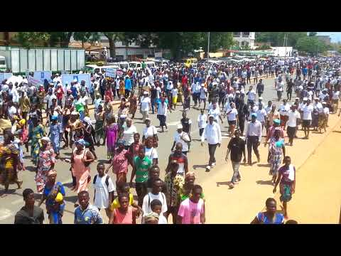 UNIR inaugure des marches politiques de la plage vers le centre-ville à Lomé