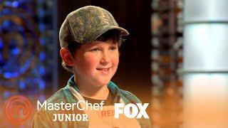 Reid Presents His Fried Chicken Dish | Season 7 Ep. 13 | MASTERCHEF JUNIOR