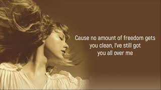 Taylor Swift ft. Maren Morris - You All Over Me (From The Vault) (Lyrics)