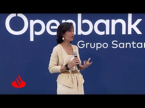 """Ana Botín: """"Queremos llevar el modelo de online banking de Openbank a otros países"""""""