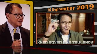 Ang Prok Prach | KHAN SOVAN Live Show Khmer News Politics Today 2019 September 16 _ Khmer Mjas Srok