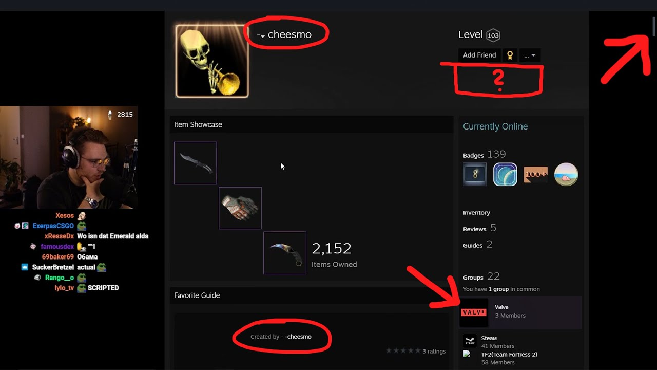 the actual most edgy hacker steam profile ever