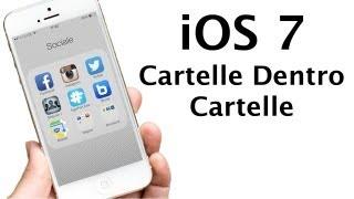 iOS 7 - Inserire Cartelle Dentro Cartelle