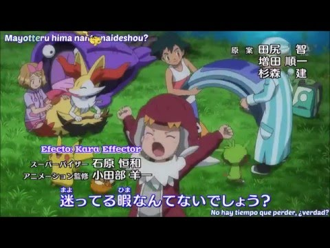Pokemon XY Opening 3 V4(P18) Sub Español HD