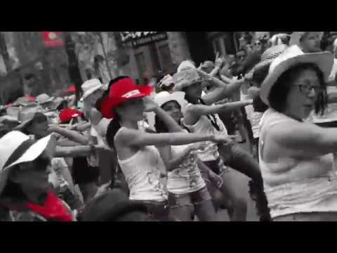 SPARQ PRODUCTIONS' 6TH ANNUAL STAMPEDE BOLLY FLASH MOB 2017