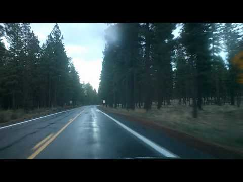 McKenzie Pass to Bend Oregon Dashcam Drive: Route 242, US 20