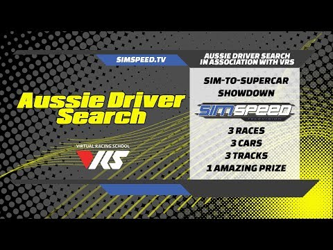 Aussie Driver Search Sim To Supercar   Special Event