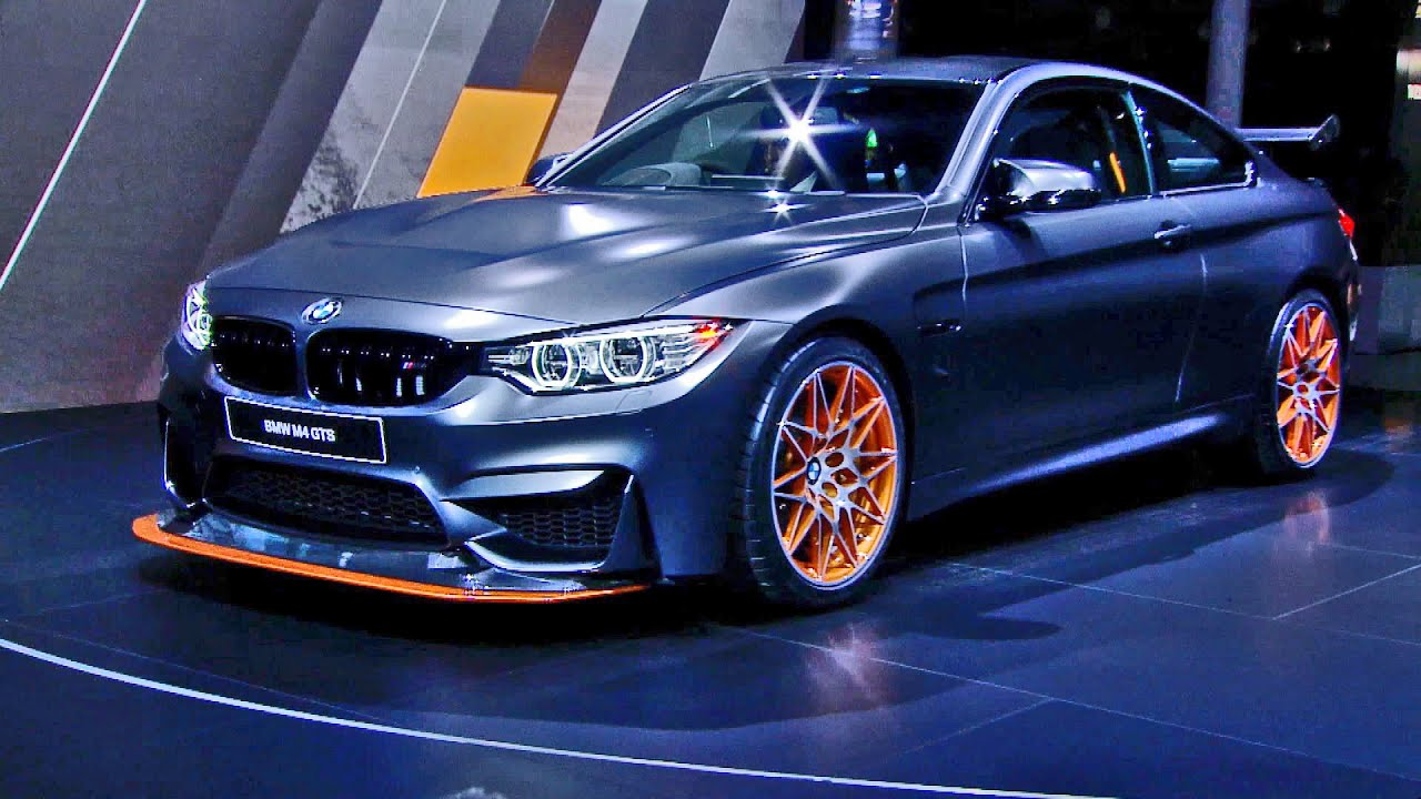 2016 BMW M4 GTS at the Tokyo Motor Show 2015  YouTube