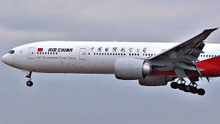 SPECIAL LIVERY | Air China Boeing 777-300ER at Los Angeles Airport (LAX) | Plane Spotting 2017 |