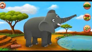 Cartoons For Kids  farm animals wild | Animal cartoon for kids | Go Kids TV