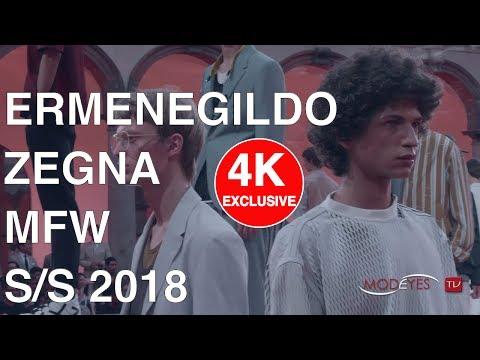 ERMENEGILDO ZEGNA | MAN SPRING SUMMER 2018 | EXCLUSIVE FASHION SHOW | UHD - 4k
