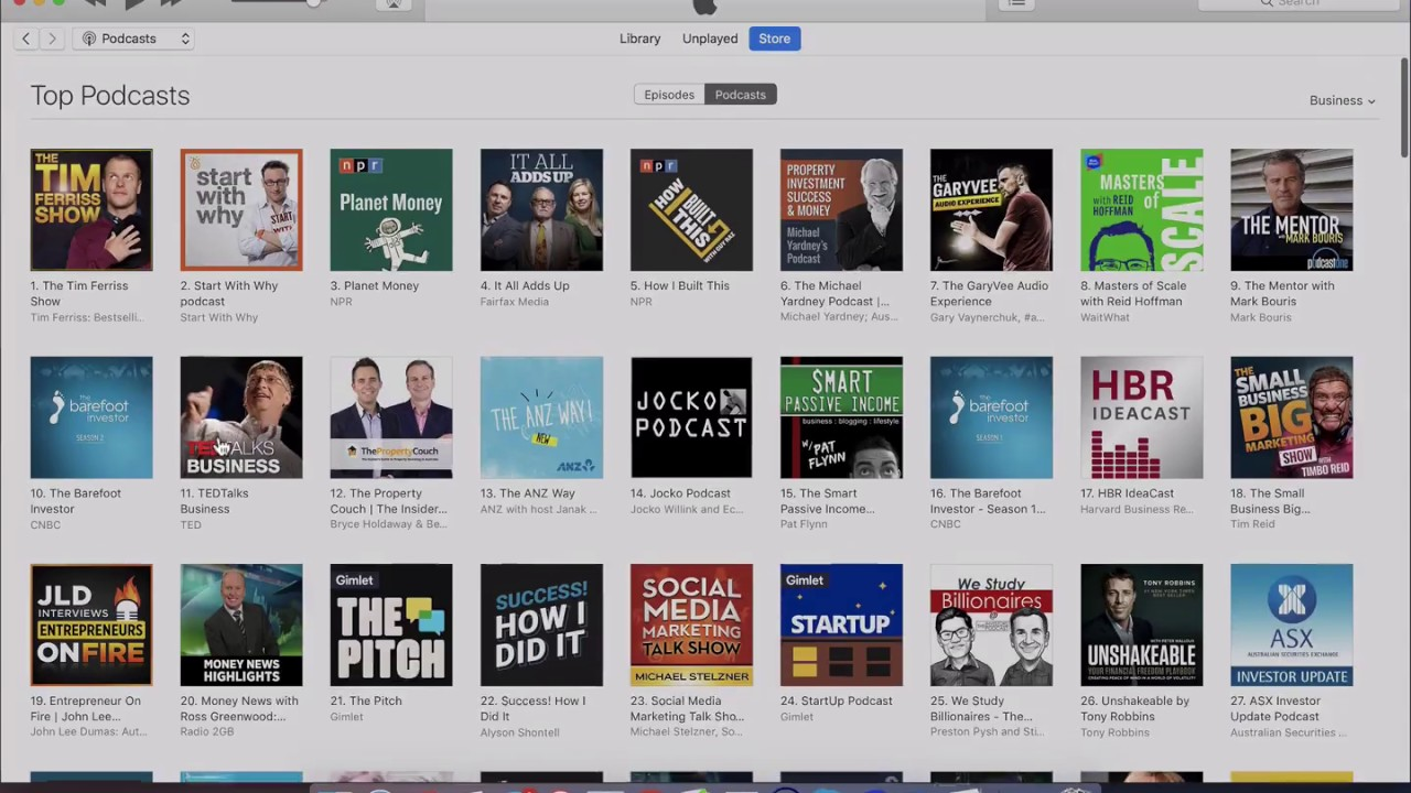 How To Find Itunes Podcast Category Charts