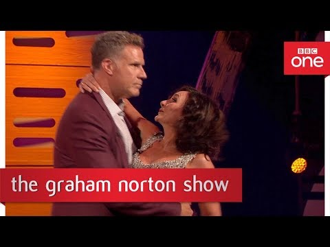 Download Youtube: Will Ferrell dances the Rumba with Shirley - The Graham Norton Show: 2017 - BBC One