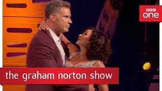 Will Ferrell dances the Rumba with Shirley - The Graham Norton Show: 2017 - BBC One