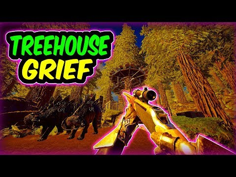 Ark Official PvP - TREE HOUSE GRIEF ! | Ark Survival Evolved