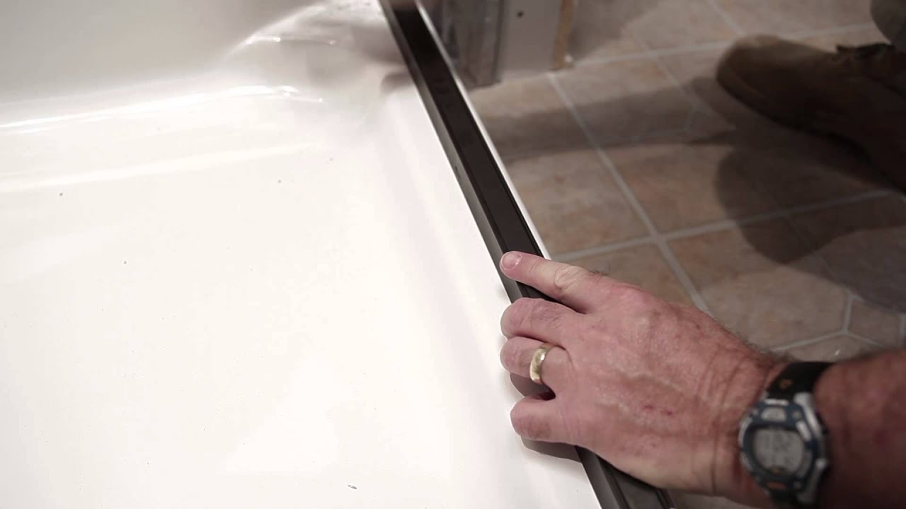 Baymont Bathware Door Installation Vdeo Youtube