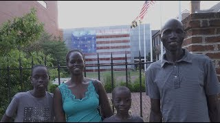 South Sudanese Family Celebrate Their First Independence Day