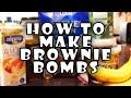 Vegan Brownie Bombs! High Protein Recipe Also GF!