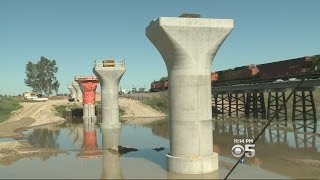 High-Speed Rail Begins to Take Shape In Central Valley