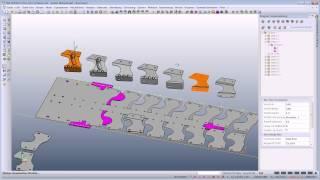 VISI Progress- Produktvideo ''Erzeugung des Streifenlayouts''