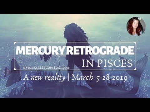 MERCURY RETROGRADE IN PISCES // DIVINE MESSAGES