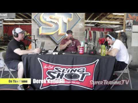 Mark Bell's PowerCast #38 - New Raw Squat King? Derek Kendall | SuperTraining.TV