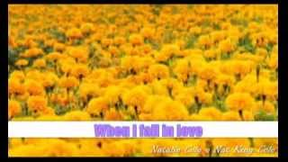 When I Fall In Love : Natalie Cole - Nat King Cole