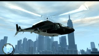 GTA IV Airwolf fly around