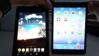 ASUS MeMO Pad HD 7 vs iPad mini összehasonlító videó | Tech2.hu