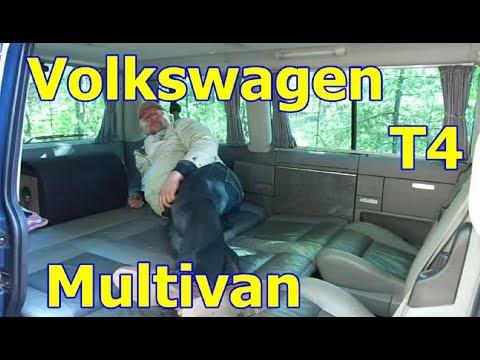 """Фольксваген Т-4 Мультиван/Volkswagen T-4 Multivan. Видео обзор, тест-драйв. """"Нестареющий помощник""""."""