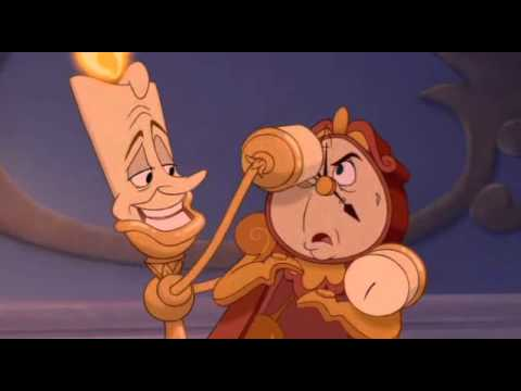 Beauty And The Beast If Cogsworth Lumiere Were A Moive